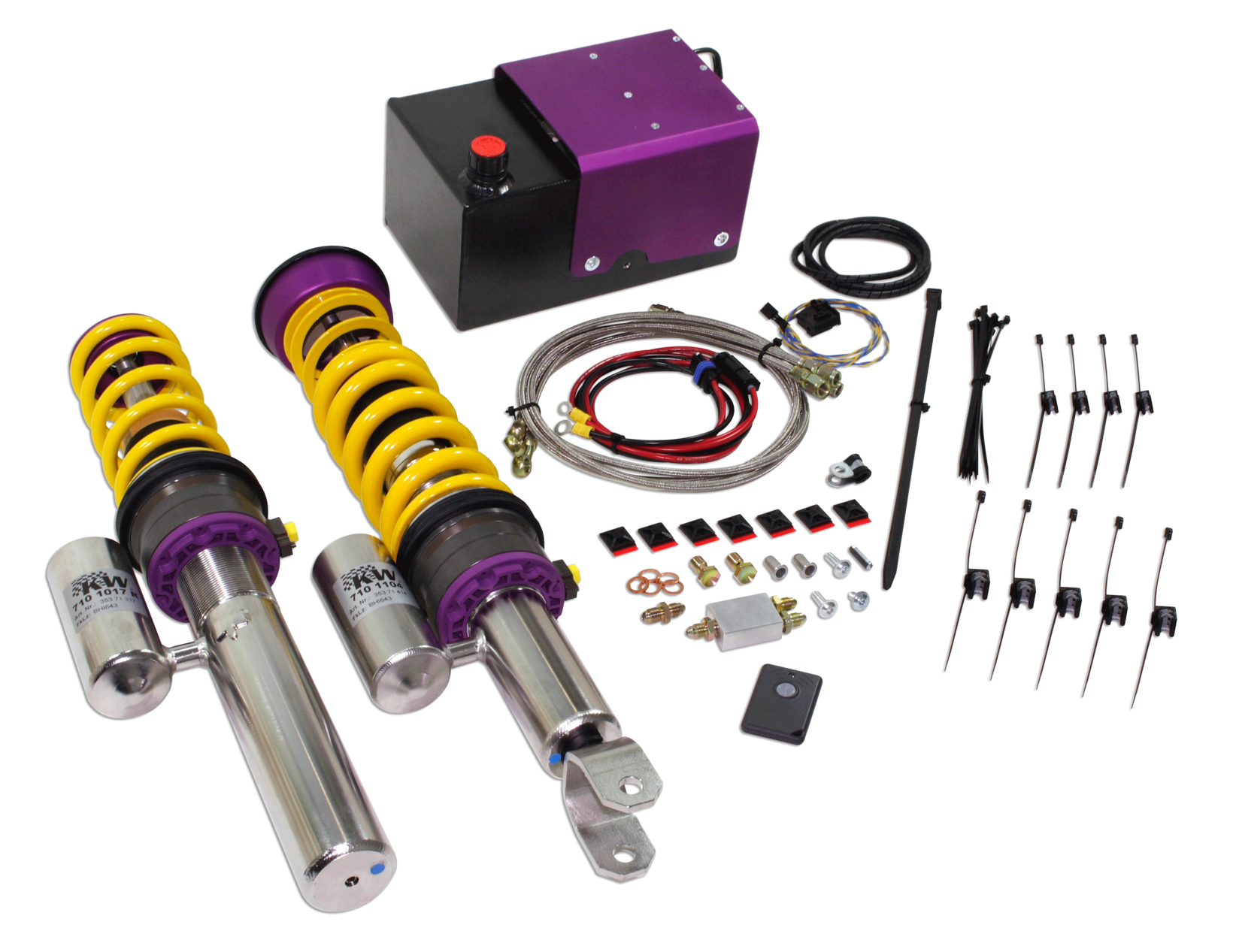 Porsche Hydraulic Lift Suspension Hls System