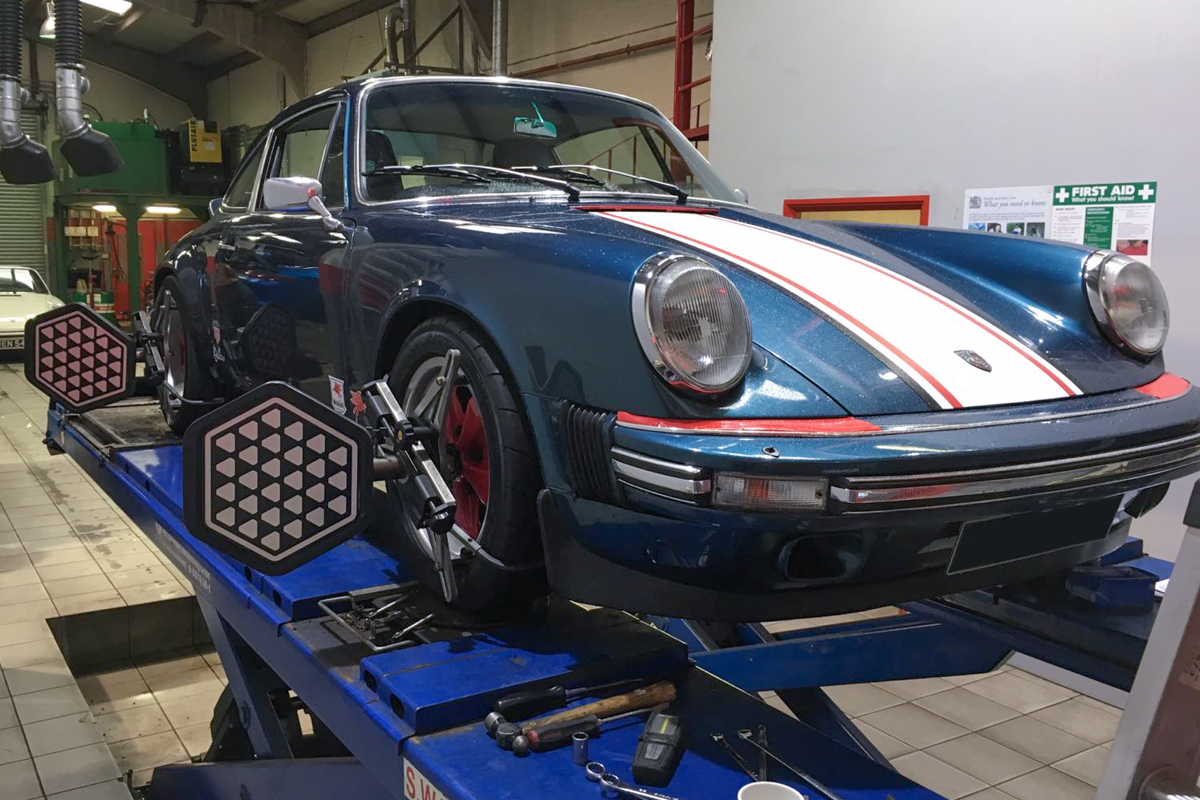 24 Hour Tire >> KW Suspension for classic Porsche 911 SC - JZM Porsche