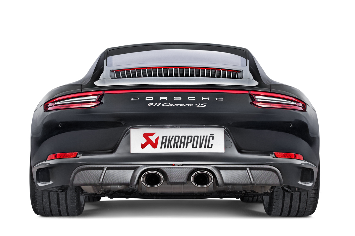 Akrapovic Upgrade Exhaust For Porsche 991 2 Carrera Turbo
