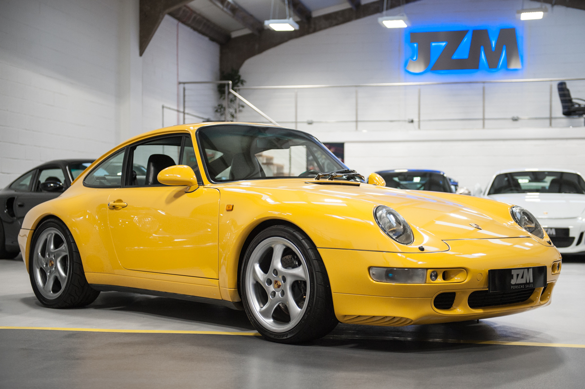 Porsche 993 Carrera Lhd In Speed Yellow For Sale Jzm Porsche