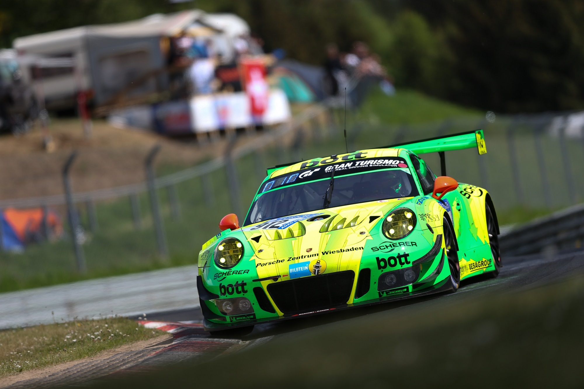 Manthey Racing Wins 24 Hour Race JZM Porsche